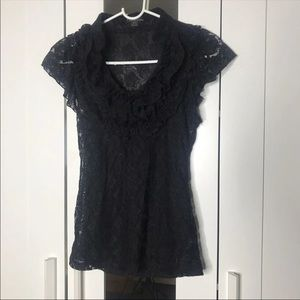 Twentyone Black Blouse Size S